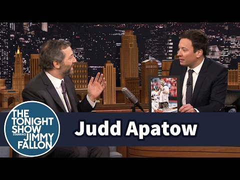 Judd Apatow Has His Own Baseball Card