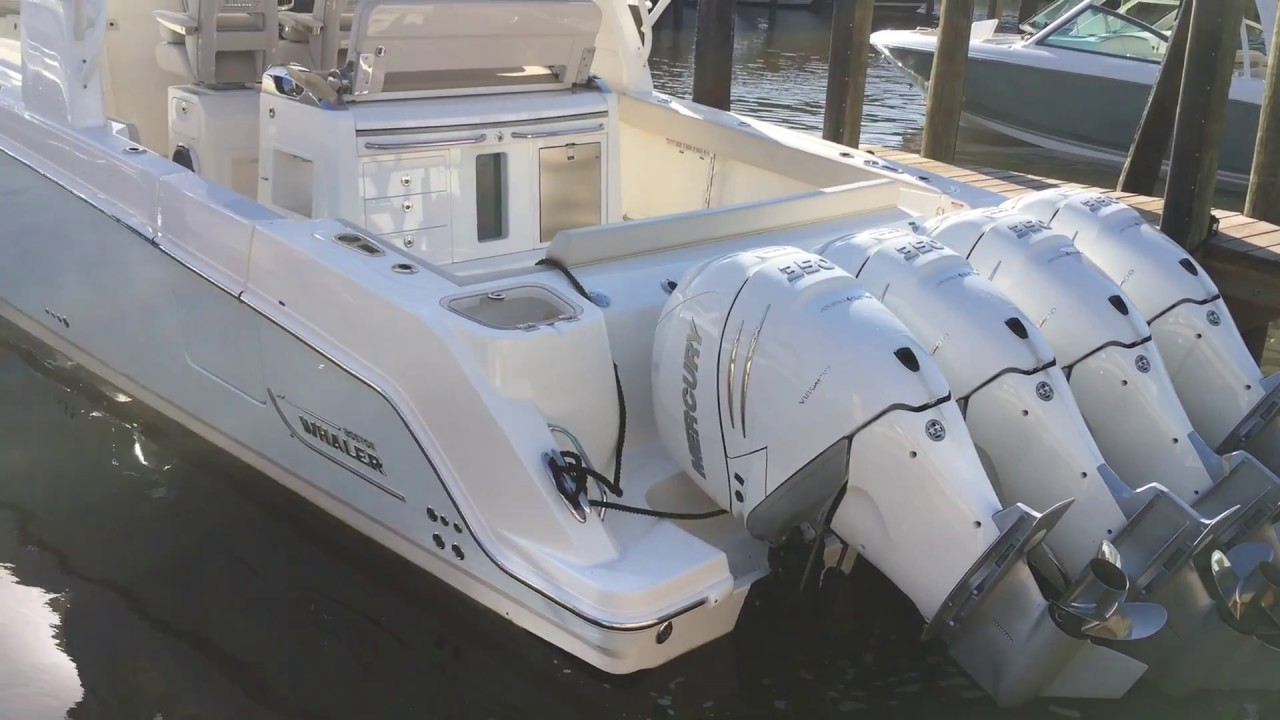 2018 Boston Whaler 420 Outrage 60th Anniversary Edition For Sale at  MarineMax Sarasota