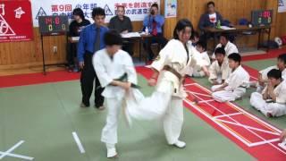 Repeat youtube video Fukuoka Mumonkai Karate 「少年・少女の熱き闘い!」