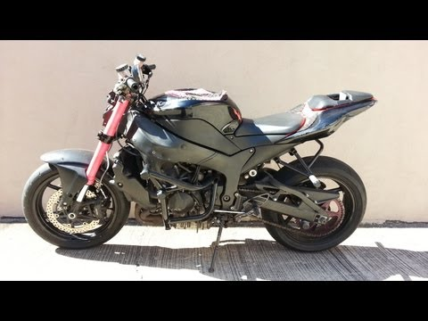 2007 Kawasaki ZX6R Ninja Stunt Bike For Sale