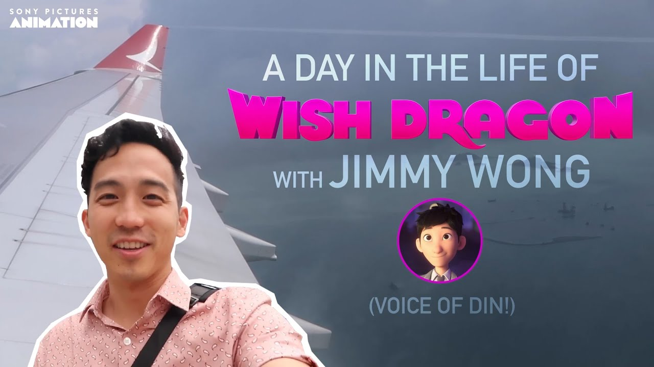 Wish Dragon | A Day in the Life with Jimmy Wong | Sony Animation