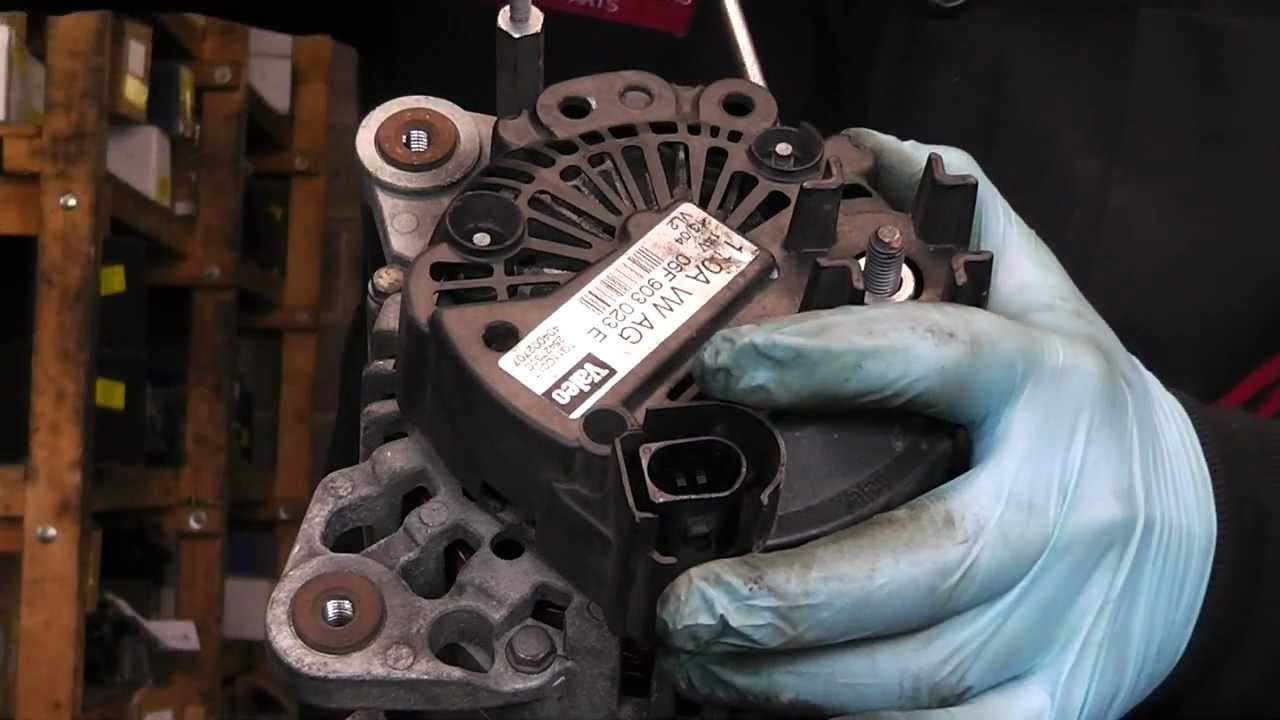 hight resolution of valeo alternator repair common problem brush change youtube