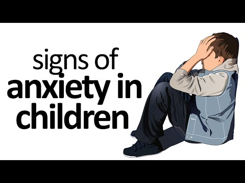 Signs And Symptoms Of Anxiety In Children