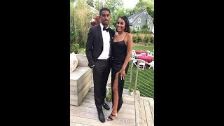 Sasha Obama stuns in fitted black gown for high school prom