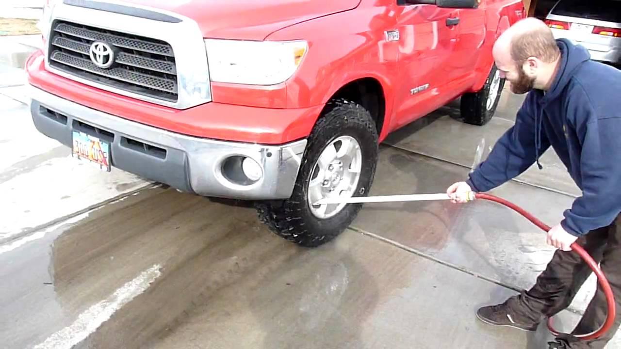Car Undercarriage Engine Washer Sprayer Hose Attachment You