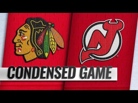 01/14/19 Condensed Game: Blackhawks @ Devils