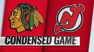 01/14/19 Condensed Game: Blackhawks @ Devils