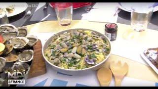 RECETTE : Spaghettis aux tellines, à la languedocienne