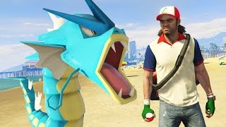 GTA 5 Mods - ULTIMATE POKEMON GO MOD!! GTA 5 Pokemon Go Mod Gameplay! (GTA 5 Mods Gameplay)