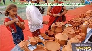 मिट्टी के सभी अद्भुत बर्तन, 24 से 29 अक्टूबर 2018 - स्वदेशी मेला | CCRT Ground, Sector 7, Dwarka