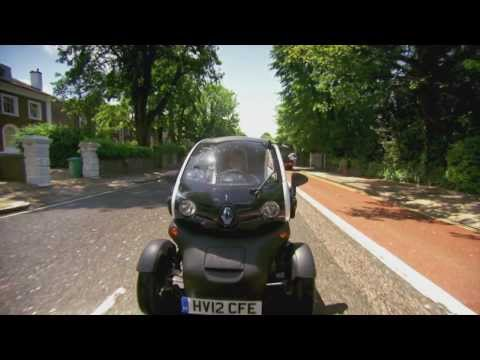 Renault Twizy Electric Car review - Fifth Gear