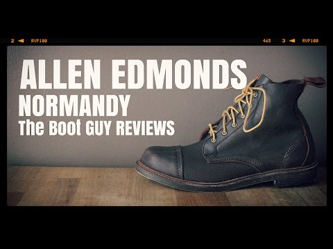 Allen Edmonds NORMANDY BOOTS 1661 Brown Kudu [ The Boot Guy reviews ]
