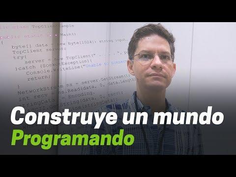 """""""Cuando escribes software estás construyendo un mundo"""" Miguel de Icaza"""