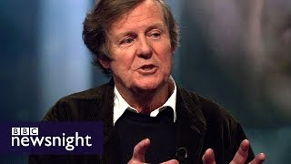 Scriptwriter David Hare on Denial, truth and Trump - BBC Newsnight