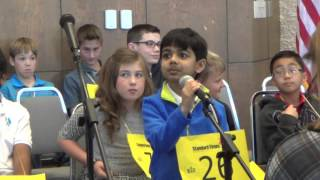 San Angelo Scripps Regional Spelling Bee - 2016 - First round