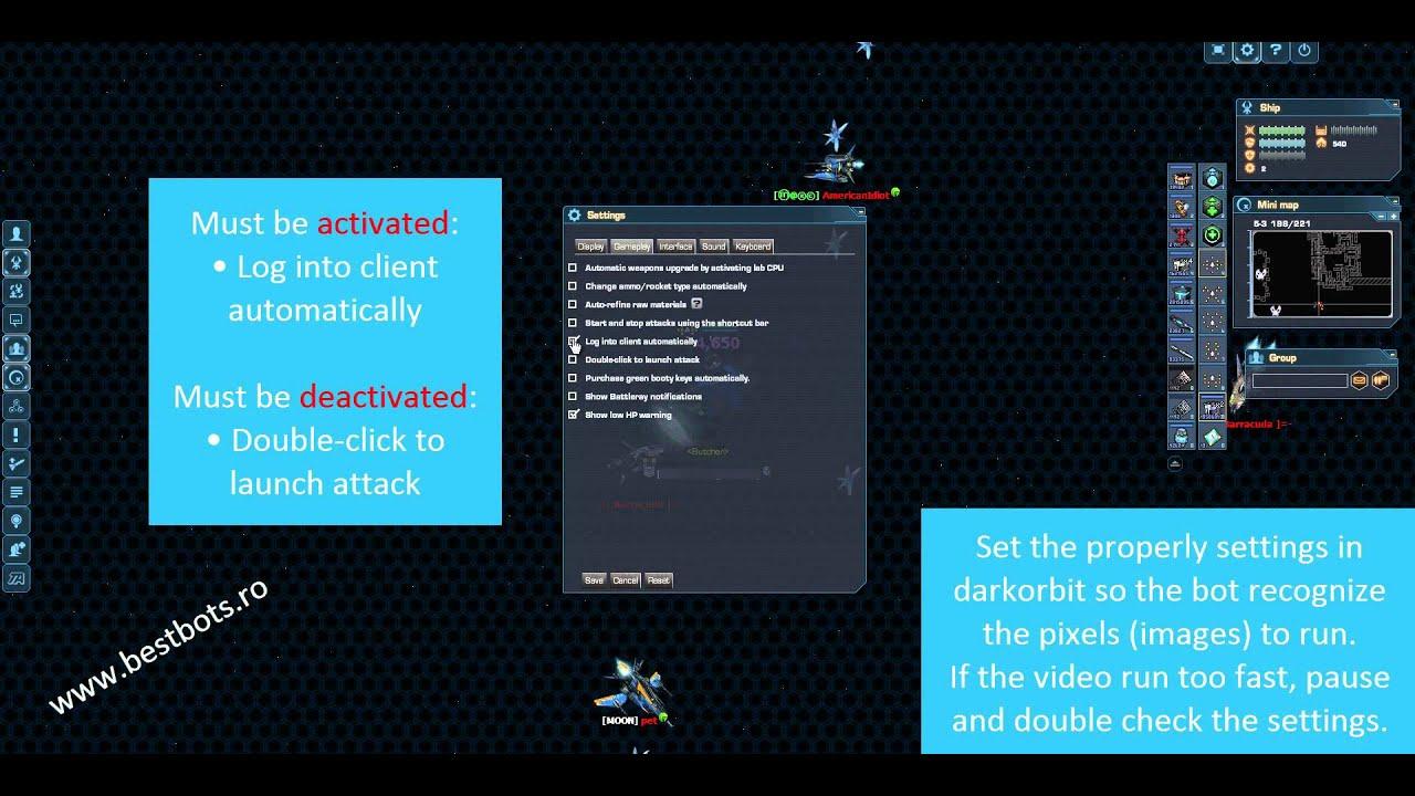 Pixel-Bot Palladium - best pixel bot for Darkorbit with more features