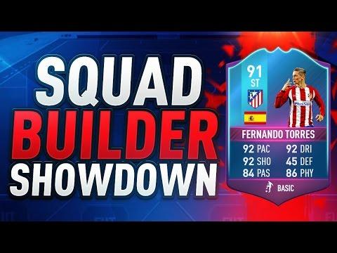FIFA 17 | SQUAD BUILDER SHOWDOWN vs AJ3 | 91 RATED SBC FERNANDO TORRES