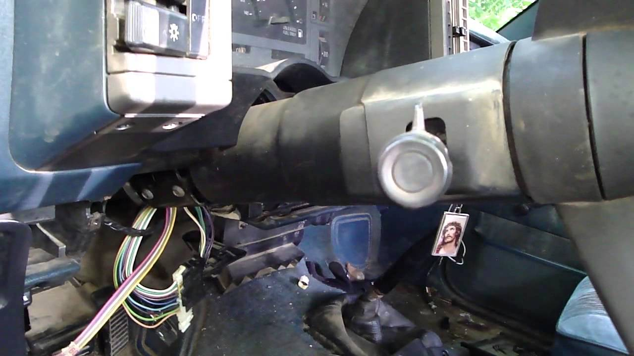 1995 gmc sierra ignition wiring diagram 2006 jeep liberty trailer chevy s10 turn signal problem - youtube