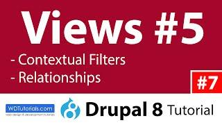 видео drupal contextual filters