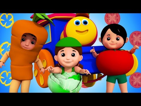 Vegetable Songs | Learning Street With Bob | Nursery Rhymes And Videos For Children by Kids Tv