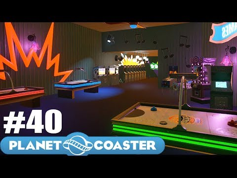 Let's Build the Ultimate Theme Park! - Planet Coaster - Part 40 (New Computer and Arcade)