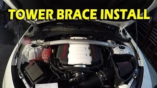 Strut Tower Brace Install Guide: 2016/2017 Camaro SS, 1LE, and LT