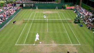 Wimbledon 70-68 Isner def Mahult (Longest tennis match in history...)