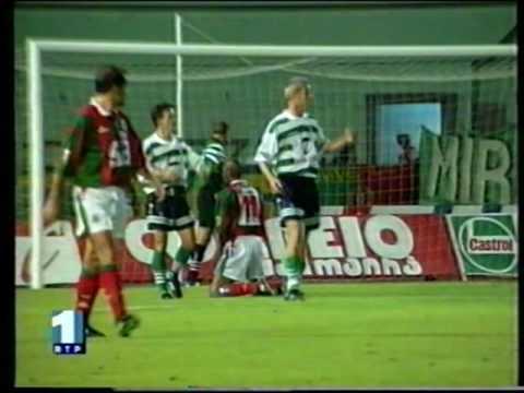07J :: Marítimo - 0 x Sporting - 1 de 1997/1998