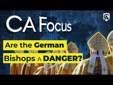 Catholic Answers Focus | Are the German Bishops a Danger? | Ed Condon