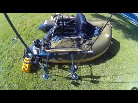 Float Tube Fishing Setup