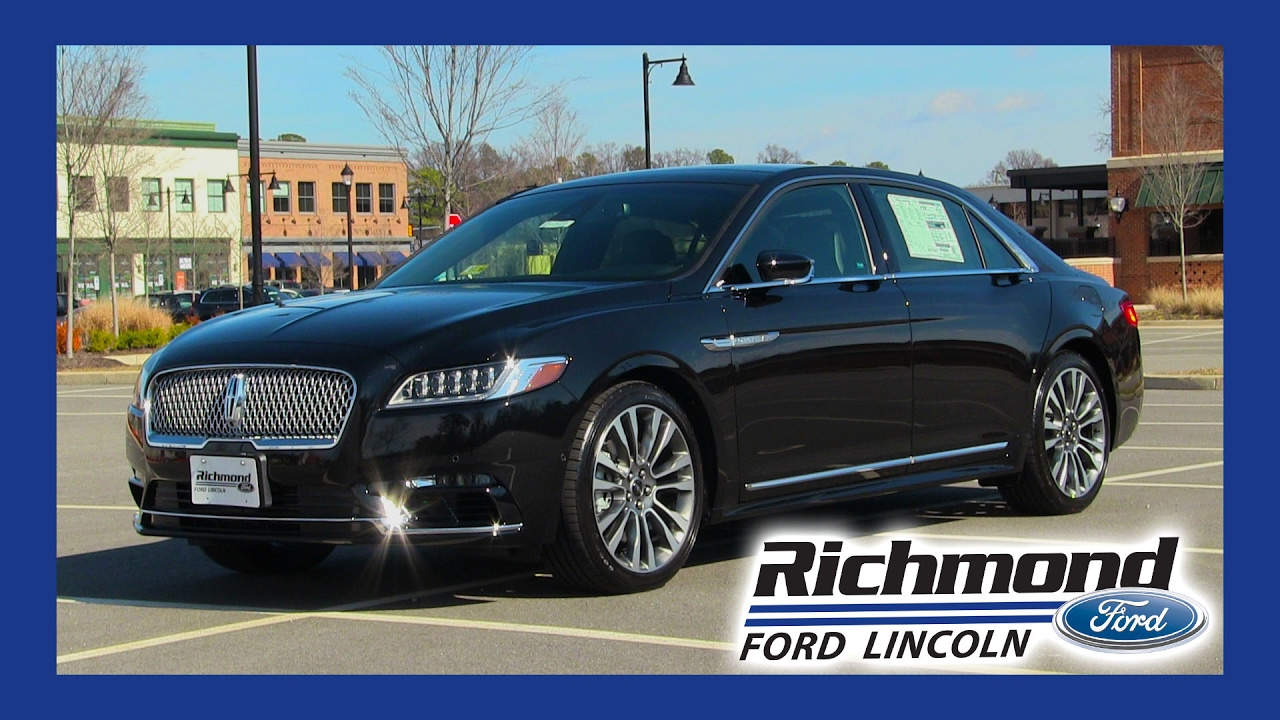 2017 Lincoln Continental Everything You Need To Know