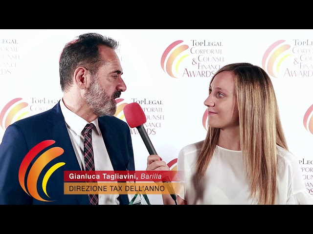 Gianluca Tagliavini, Barilla - TopLegal Corporate Counsel & Finance Awards 2019