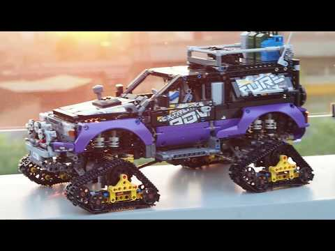 Lego 42069 Extreme Adventure full RC mod with Power Functions & SBrick