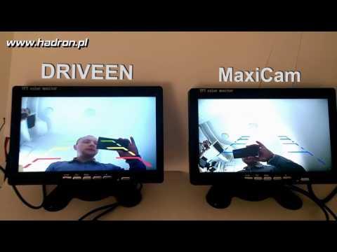 Porównanie kamer cofania Driveen i MaxiCam