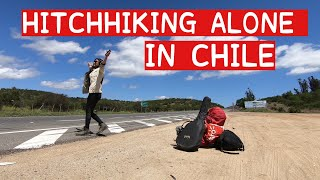 HITCHHIKING ALONE- A Day In The Life Of A SOLO WOMAN TRAVELER (EP 35)