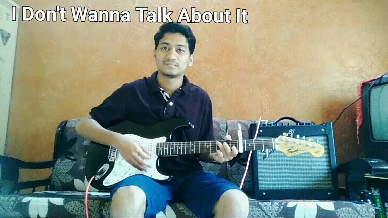 I Dont Want To Talk About It Rod Stewart Cover Chords Youtube