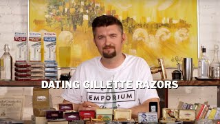 what year was my usa gillette safety razor made? gillette date codes