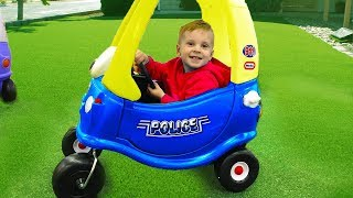 Cars toys Video for Kids Police car baby songs for children