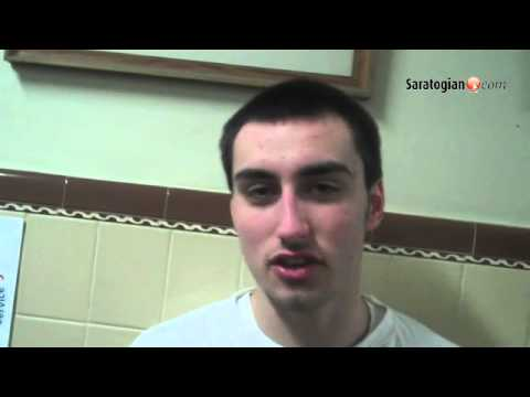 Saratogian Boys Athlete of the Week: Evan Pescetti, Saratoga Catholic #518hoops