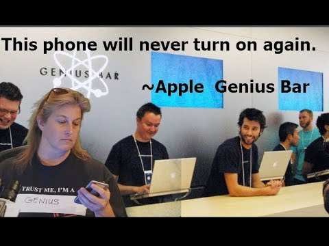LIVE! Apple says this iPhone will never turn on again.  Is it true?