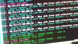 Убийца RX 470-х. R9 390 8GB. 34.1Mh/s на Эфире!