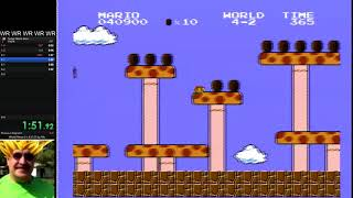 Todd Rogers' Super Mario Bros. NEW 4:48.72 *World Record*   1987