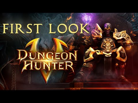 Dungeon Hunter 5 - First Look Pt. 1