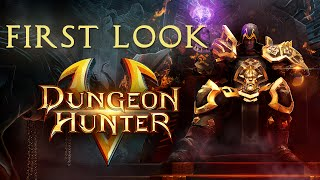 dungeon hunter 5 first look pt 1