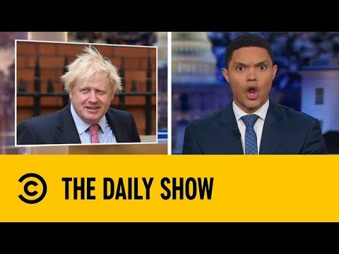 Trevor Noah on Boris Johnson | The Daily Show With Trevor Noah