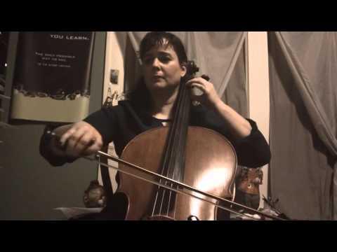 I'm Dreaming of a White Christmas Cello I