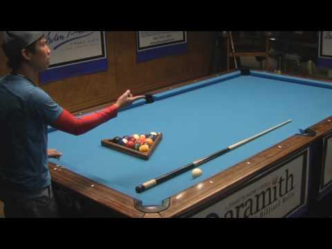 Alex Pagulayan vs Scott Frost discuss etiquette during one pocket match