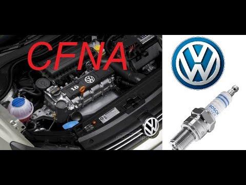 CFNA (VW Jetta, Polo Sedan, Skoda Fabia) - Замена свечей зажигания