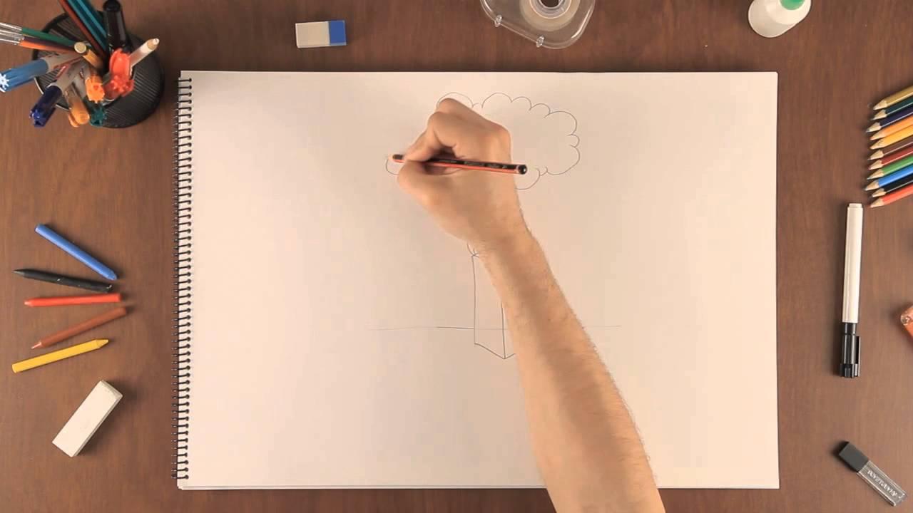 Cmo dibujar una nube de humo  Aprende a dibujar como un
