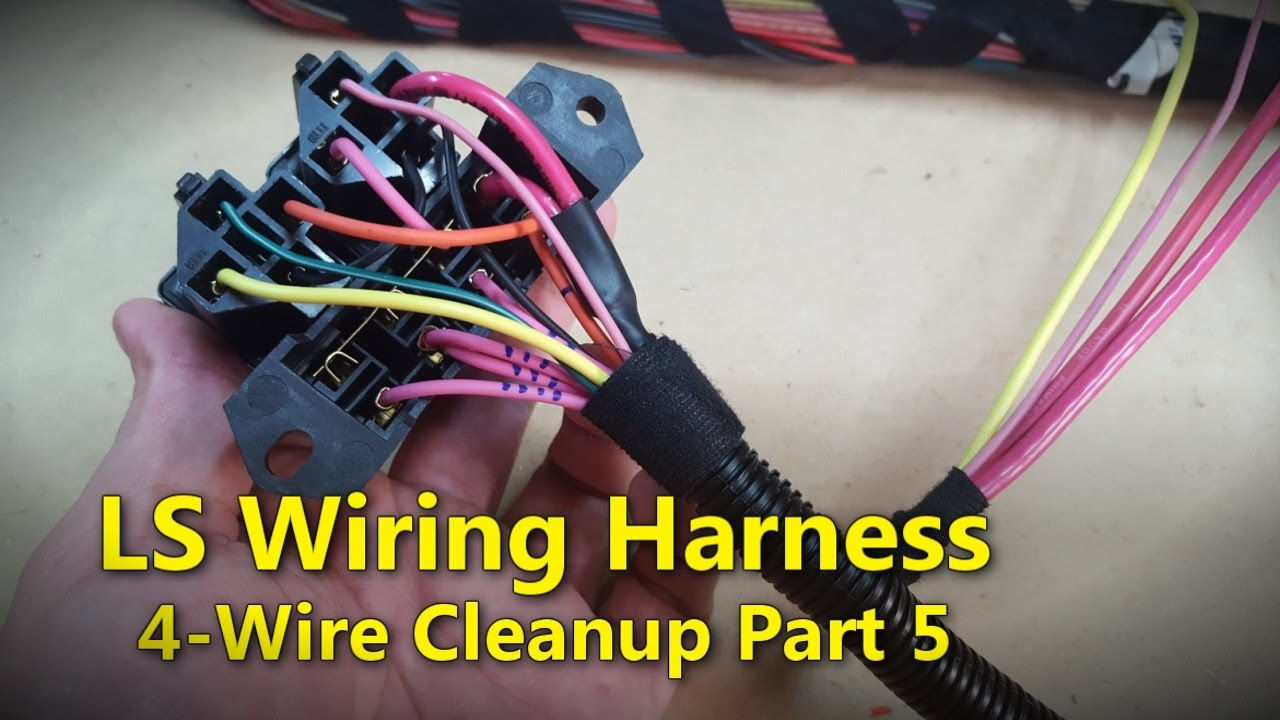 hight resolution of ls wiring harness part 5 project rowdy ep017
